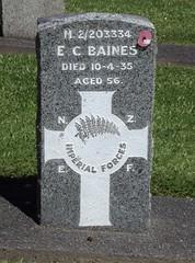Service Persons Area E, Row 3, Plot 61 (Discover Waikumete Cemetery) Tags: waikumetecemetery soldiers grave soldiersgrave