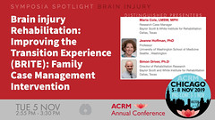 #ACRM2019 Symposia: Brain Injury Cole #625456 (ACRM-Rehabilitation) Tags: acrmprogressinrehabilitationresearchconference acrmconference acrm acrm|americancongressofrehabilitationmedicine annualconference medicalconference medicaleducation continuingeducationcredits cmeceu progressinrehabilitationresearch symposia symposium interdisciplinary interprofessional chicago hiltonchicago acrm2019 rehabilitationresearch rehabilitation evidencebased scientificresearch