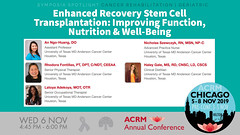 #ACRM2019 Symposia: Cancer Rehabilitation Ngo-Huang #602292-2 (ACRM-Rehabilitation) Tags: chicago geriatric neuroscience symposium interdisciplinary arttherapy annualconference symposia musictherapy medicalconference braininjury artscience hiltonchicago medicaleducation interprofessional acrm musictherapists acrmprogressinrehabilitationresearchconference cancerrehabilitation acrm2019 acrmconference artsneuroscience cancerrehabilitationnetworkinggroup acrm|americancongressofrehabilitationmedicine geriatricrehabilitation