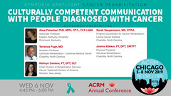 #ACRM2019 Symposia: Cancer Rehabilitation Fleischer #603079-2 (ACRM-Rehabilitation) Tags: acrmprogressinrehabilitationresearchconference acrmconference acrm acrm|americancongressofrehabilitationmedicine annualconference medicalconference medicaleducation interdisciplinary interprofessional symposia symposium artsneuroscience artscience chicago hiltonchicago acrm2019 neuroscience arttherapy musictherapists musictherapy braininjury cancerrehabilitation cancerrehabilitationnetworkinggroup