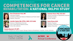 #ACRM2019 Symposia: Cancer Rehabilitation Holz #588699-2 (ACRM-Rehabilitation) Tags: acrmprogressinrehabilitationresearchconference acrmconference acrm acrm|americancongressofrehabilitationmedicine annualconference medicalconference medicaleducation interdisciplinary interprofessional symposia symposium artsneuroscience artscience chicago hiltonchicago acrm2019 neuroscience arttherapy musictherapists musictherapy braininjury cancerrehabilitation cancerrehabilitationnetworkinggroup