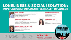 #ACRM2019 Symposia: Cancer Rehabilitation Asher #619122 (ACRM-Rehabilitation) Tags: acrmprogressinrehabilitationresearchconference acrmconference acrm acrm|americancongressofrehabilitationmedicine annualconference medicalconference medicaleducation interdisciplinary interprofessional symposia symposium artsneuroscience artscience chicago hiltonchicago acrm2019 neuroscience arttherapy musictherapists musictherapy braininjury cancerrehabilitation cancerrehabilitationnetworkinggroup lifestylemedicine nutrition