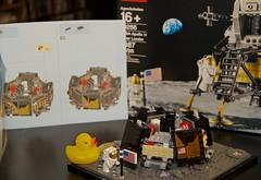 Duck 139 of 365 (don_espe) Tags: 365 365day duck duckie ducky lego lunarlander rubberduck rubberducky space