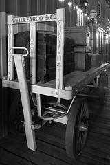 Cargo wagon (GerryL) Tags: gerryl sacramento california appleiphone6 oldsacramento californiastaterailroadmuseum wellsfargo