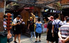 Shanghai - Tianzifang (cnmark) Tags: china road fashion shop architecture bar restaurant alley shanghai arts lifestyle historic entertainment nightlife preserved 中国 上海 crowded nong taikang tianzifang 田子坊 泰康路 ©allrightsreserved 卢湾区 210弄