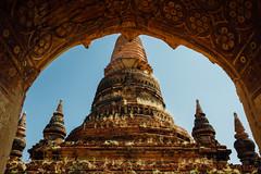 Ancient Bagan Temple Through Arch, Myanmar (AdamCohn) Tags: adam cohn adamcohn bagan burma myanmar oldbagan architecture pagoda paya streetphotographer streetphotography stupa temple temples wwwadamcohncom