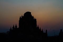 Sunset Behind Bagan Temple, Myanmar (AdamCohn) Tags: adam cohn adamcohn bagan burma myanmar oldbagan architecture evening pagoda paya silhouette streetphotographer streetphotography stupa sunset temple temples wwwadamcohncom
