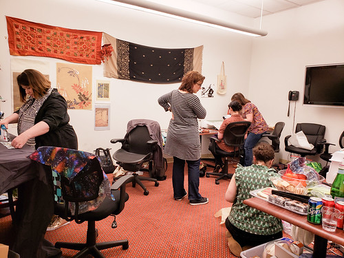 Textile Makerspace in action