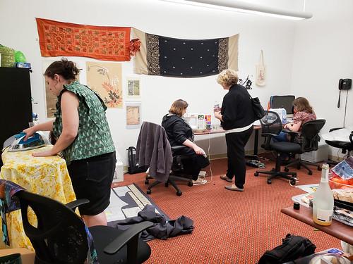Elaine visits the Textile Makerspace