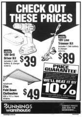 Bunnings - Check Out These Prices (RS 1990) Tags: theadvertiser newspaper microfilm scan 2010s adelaide australia australian southaustralian october 2017