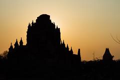 Bagan Temple Silhouette & Orange Sky, Myanmar (AdamCohn) Tags: adam cohn adamcohn bagan burma myanmar oldbagan architecture evening pagoda paya silhouette streetphotographer streetphotography stupa sunset temple temples wwwadamcohncom