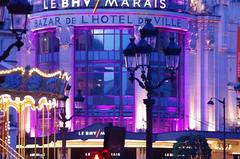 294 - Paris Avril 2019 - le manège devant l'Hôtel de Ville de le Bazar de l'Hôtel de Ville (paspog) Tags: paris france avril april 2019 manège hôteldeville bhv