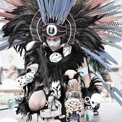 norland d. cruz photography: aztec man prepares some offering (norlandcruz74) Tags: portraits portrait american filipino pinoy norlandcruz people natives native mexicans mexican aztecs aztec