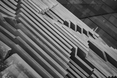 (jfre81) Tags: street city urban chicago abstract art texture lines architecture photography james downtown loop interior fremont diagonal ridge madison 200 minimalist jfre81 canon eos rebel xs