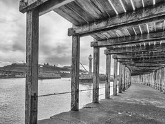 Under Whitby Pier (Mary&Neil) Tags: elements