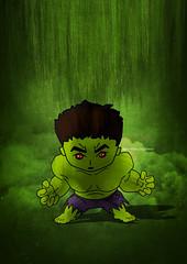 Hulk (scribble_book) Tags: avengers endgame infinitywar marvel india artist art creative funkoart hulkfunko hulk greenman angry texture poster