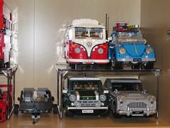 LEGO Creator Expert models raised on portable shelves! (RS 1990) Tags: lego models shelves raised improvement june 2019 anko kmart