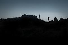 Silhouette (dominidomk) Tags: 2018korsika silhouettesolo snapshot bw gegenlicht unknown strangers shoting random photoshop portrait stil colours