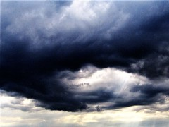 Storm Clouds Circulated Over North Yorkshire. (Gary Chatterton 7 million Views) Tags: stormclouds stormcell weather cloudformation rain nature storm flickr explore canonpowershotsx430 photography
