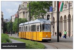 Tram Budapest - 2019-30 (olherfoto) Tags: tram tramcar tramway strasenbahn villamos ungarn hungary budapest ganz bkv