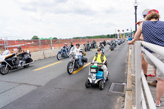 Arlington VA, May 26, 2019: Rolling Thunder Motorcycle rally crosses Memorial Bridge entering Washington DC from Arlington Virginia. The rally is to bring attention to POWs and MIAs of US-involved wars. (thekidfromcrumlin) Tags: usa america washingtondc dc washington districtofcolumbia unitedstates military salute americanflag parade harley motorbike riding harleydavidson mia motorcycle pow davidson rider memorialbridge thunder rolling memorialday motorcyclerally saluting washingondc rollingthunder memorialweekend prisonersofwar arlingtonmemorialbridge usanorthamerica usmemorialday warmemorialholiday washingtondcmidatlanticusa rollingthunderruntothewall usmemorialdayparade