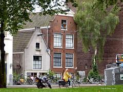 Marnixstraat 15-6-19 (k.stoof) Tags: marnixstraat gevels fietser bike facades amsterdam streetphotography cityscape