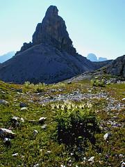 Torre di Toblin / Toblinger Knoten (Vid Pogacnik) Tags: italy mountain landscape outdoors italia hiking dolomites dolomiti toblingerknoten torreditoblin sextendolomites