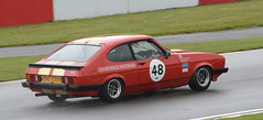 Ford Capri 3.0S - Butterfield / Young (rallysprott) Tags: sport sprott wdcc rallysprott 2019 donington historic festival circuit touring car cars motor racing race nikon d7100 tony dron trophy ford capri butterfield young