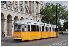 Tram Budapest - 2019-29 (olherfoto) Tags: tram tramcar tramway strasenbahn villamos ungarn hungary budapest ganz bkv