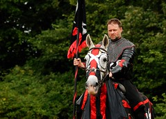 Sir Hector, the Black Night, challenger at Loxwood (Puckpics) Tags: england westsussex knight joust rider loxwood sirhector loxwoodjoust
