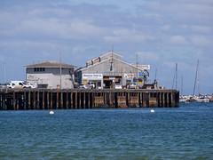 Monterey Fish Co. (Teelicht) Tags: california fabrik fischfabrik kalifornien küste monterey montereycounty nordamerika northamerica ozean pacificocean pazifik pier seebrücke usa unitedstatesofamerica vereinigtestaaten coast factory fishcannery ocean