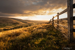 Transcendence (Through_Urizen) Tags: category derbyshire england landscape mamtor places sunrise sigma1020mm canon70d canon outdoor landscapephotography travelphotography hills ridge valley edale grass fence clouds sky uk unitedkingdom greatbritain