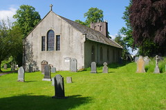 St. Mary's Church, Threlkeld, Cumbria, UK (tosh123) Tags: building arch architecture listed threlkeld cumbria gradell trees grave graveyard tower