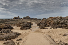 Too the Light! (miketonge) Tags: channelislands jersey corbiere corbierelighthouse corbierepoint people causeway lighthouse rocks coast ocean nikon d850 2470