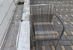 Empty chair, Empty Terrace (Pieter Musterd) Tags: terras stoel kijkduin abandoned verlaten pietermusterd musterd canon pmusterdziggonl nederland holland nl canon5dmarkii canon5d denhaag 'sgravenhage thehague lahaye