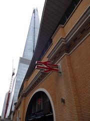 London Bridge Station and the Shard (Kake .) Tags: london se1