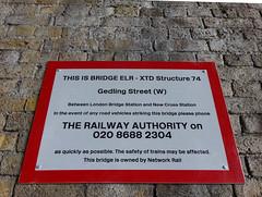 XTD 0074, Gedling Street, Bermondsey (Kake .) Tags: london se1
