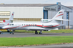 Dassault Falcon 50 Sudan Air Force ST-PSR (Clément W.) Tags: dassault falcon 50 sudan air force stpsr