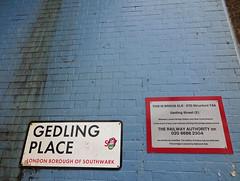 XTD 0074A, Gedling Place, Bermondsey (Kake .) Tags: london se1