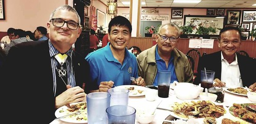 Celebratory dinner honoring worthy brother SK Vladimir Rivera's election as the incoming KofC Southern California Chapter President