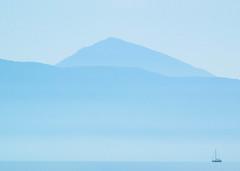 Magnificent (JamieDieu) Tags: nikond3300 greece nikon digital nikkor 18200mm lefkada nature mountains boat