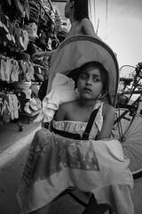 The Wait (JamieDieu) Tags: nikond3300 greece nikon digital nikkor 18200mm lefkada blackandwhite street child