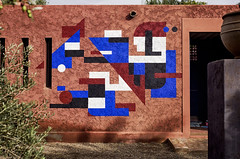 """Ex.Thoughts"" (Yuri Averin) Tags: yuriaverin mural postgraffiti montresso montressofoundation morocco urbanart urbancontemporary abstrovision graffiti streetart geometric minimal minimalism muralism jardinrouge streetartnews art abstraction abstractart marrakech marrakesh graffuturism urbancontemporain"