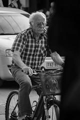 Better stay sharp (JamieDieu) Tags: nikond3300 greece nikon digital nikkor 18200mm lefkada street bicycle blackandwhite