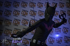 ComicdomCon Athens 2019 Cosplay Contest: Batman Beyond (SpirosK photography) Tags: comicdomcon comicdomcon2019 comicdomconathens2019 cosplay contest comicdom athens greece hau cosplaycontest prejudging portrait studio photoshoot batmanbeyond batman beyond dc dccomics dcuniverse