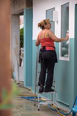 Gotta stay clean (JamieDieu) Tags: nikond3300 greece nikon digital nikkor 18200mm lefkada cleaning street
