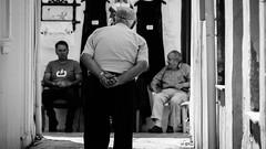 The pose (JamieDieu) Tags: nikond3300 greece nikon digital nikkor 18200mm lefkada pose street blackandwhite