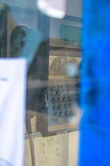 Kastos Payphone (JamieDieu) Tags: nikond3300 greece nikon digital nikkor 18200mm lefkada payphone bokeh abstract abandoned