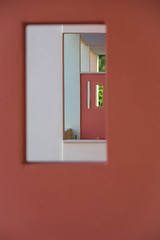 Hotel Depth (JamieDieu) Tags: nikond3300 greece nikon digital nikkor 18200mm lefkada abstract red window