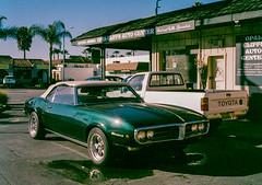 Capitola, California (bior) Tags: capitola california santacruz fujicahalf kodakgold expiredfilm pontiac firebird car classiccar toyota opalcliffs